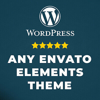 Wordpress Theme from Envato Elements