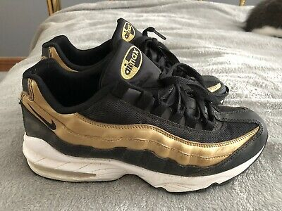 NIKE AIR MAX 97 Oro Og 884421 700 Nuovo in Scatola (Non CR7