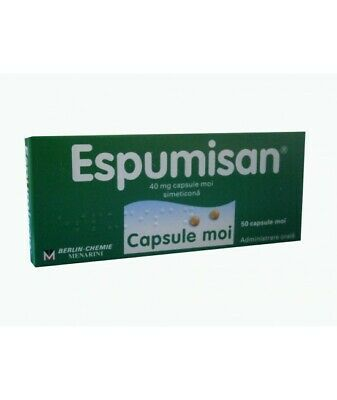 Espumisan, 50 capsules,support Gastrointestinal disorder free shipping worldwide