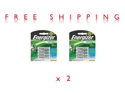 2x Energizer READY TO USE, Rechargeable battery, Triple A, 4 Pack