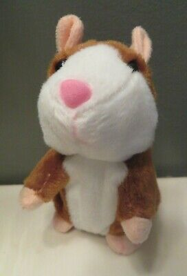 Talking Hamster Electronic Plush Toy Repeats What You Say