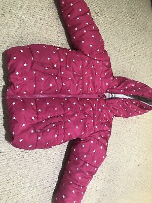 Pink George Coat, Age 2-3, Great Condition