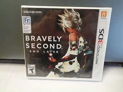 Brand New Factory Sealed Bravely Second End Layer Sealed Nintendo 3DS 2DS