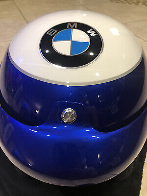 Super Rare BMW Performance Driving School Impact Helmet Painted by Axcel