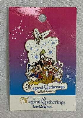Vintage Walt Disney World Trading Pin Magical Gatherings Mickey Mouse and Friend