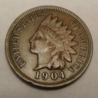 1904 P Indian Head Cent / Penny   *GOOD OR BETTER*   **FREE SHIPPING**