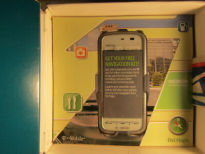 VINTAGE SYMBIAN Nokia 5230 Nuron - White (T-Mobile) Smartphone WITH OPENED BOX