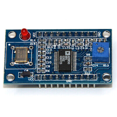 AD9850 Module DDS Signal Generator 0-40MHz 2 Sine wave/2 Square Wave Output USA.