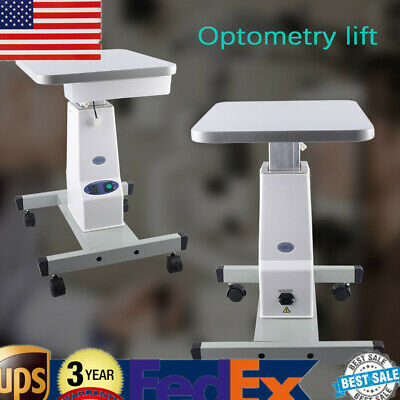 Lifting Optical Eyeglass Motorized Instrument Electric Power Work Table + Pulley