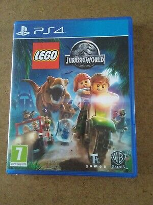 PS4 - LEGO JURASSIC WORLD Game - 7+