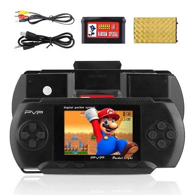 2.8'' PXP 3 PVP Slim Station Games Console 3000 Games Portable Handheld Player