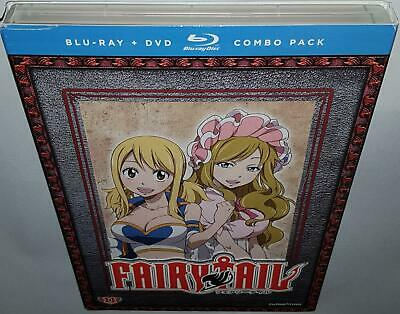 Fairy Tail Part 11 Brand New Sealed Region A Bluray & R1 Dvd Combo