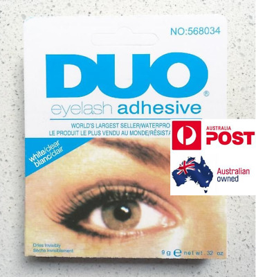 DUO Eyelash Glue (9g, White/Clear)