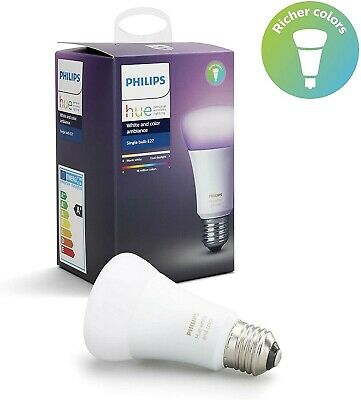 Ampoules Philips hue white and color AMBIANCE RICHER COLOR E27  neuves