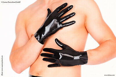 Quality Latexa Fetishwear Latex Gloves Long / Short / Black / Red (UK Stock)