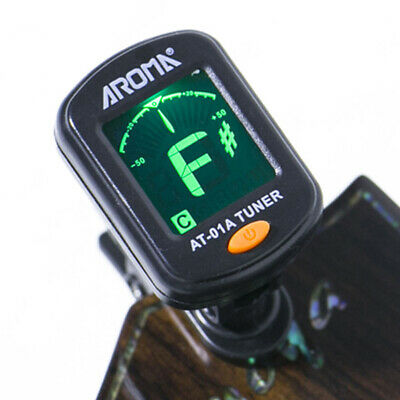 Digital Chromatic LCD Clip-On Electric Tuner for Guitar Ukulele Universal US