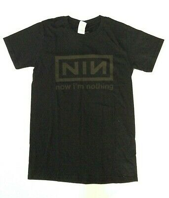 Nine Inch Nails Men's Now I'm Nothing T-shirt Black Small