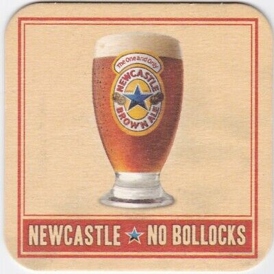 NEW IN PACK COASTERS x100 NEWCASTLE BROWN ALE BEER MATS