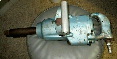 """Chicago Pneumatic CP797 HD Air Wrench 1"""" DR 8"""" Extended Anvil"""