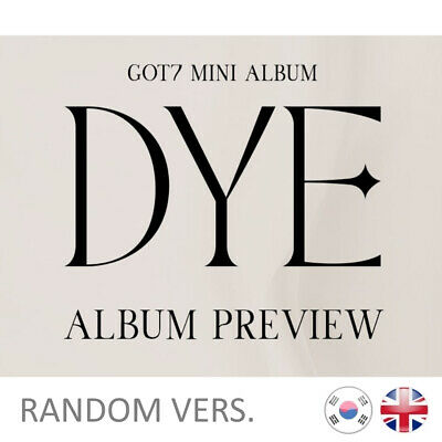 [NEW+SEALED] GOT7 DYE Mini Album Kpop K-pop UK