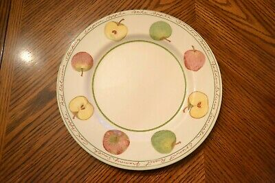 New ROYAL STAFFORD Fine Earthenware England APPLE Dinner Plate 11""