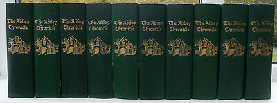 The Abbey Chronicle magazine of the E J Oxenham Apprec Society in 10 Binders