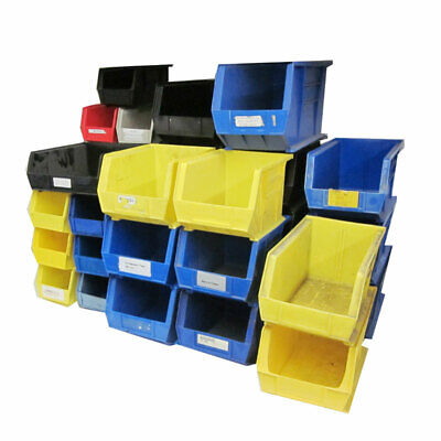 Lot 37 AkroBins Stackable Storage Bin Totes Containers