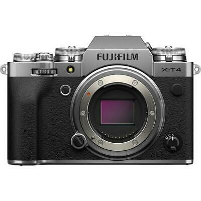 FUJIFILM X-T4 Mirrorless Digital Camera (Body Only, Silver)