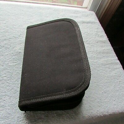 "Zipper Velcro Carrying Case Surgical Medical Dental Instruments & Tools 9"" x 6"""