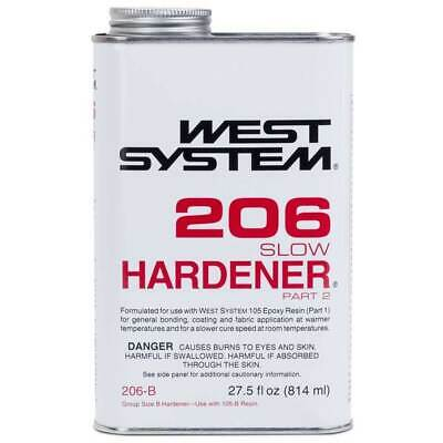 West Systems 206 Slow Epoxy Hardener .86qt