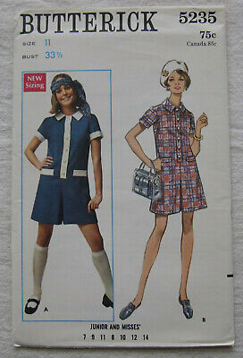 CUT Vintage McCall/'s 5235 Sewing Pattern