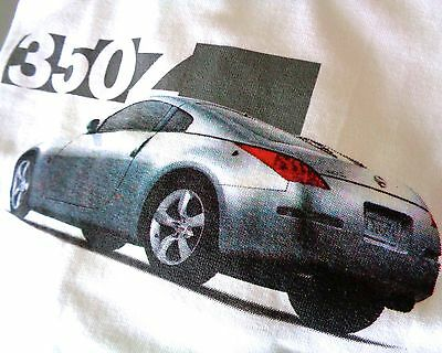 NISSAN 350Z Authorized Dealer Only Collectors Shirt—Genuine NISSAN Sleeve Script