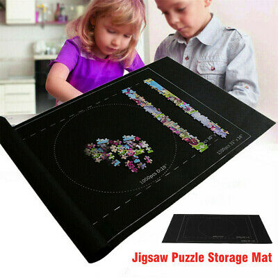 Large 1500 Pieces Puzzle Roll Up Mat Jigsaw Fun Game Easy Storage 24*46 inch
