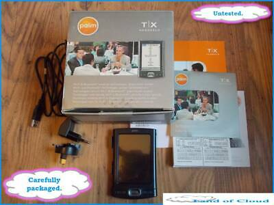 Palm T|X Handheld PDA with WiFi & Bluetooth Palm OS - UNTESTED - SAFE POST