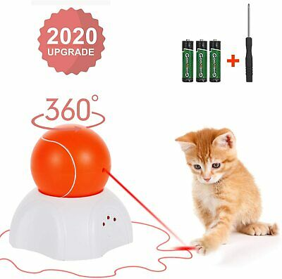 Interactive Cat Toy - Moving Laser Ball Interactive Toys for Indoor Cats