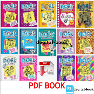 Dork Diaries: 15 B00k Set BY Renee Russell Rachel 🔥 [P~D~F] 🔥 ( High Quality)