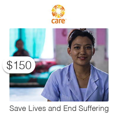 $150 Charitable Donation For: Save Lives and End Suffering