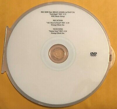 Dvd Promo Comp Reel Music Videos/Tech N9Ne-Mama Nem/Big Scoob/Big Side-Felt