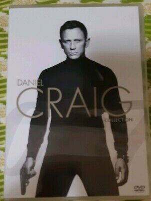 Casino Royale / Quantum of Solace / Skyfall / Spectre - 007 COLLECTION 4 DVD