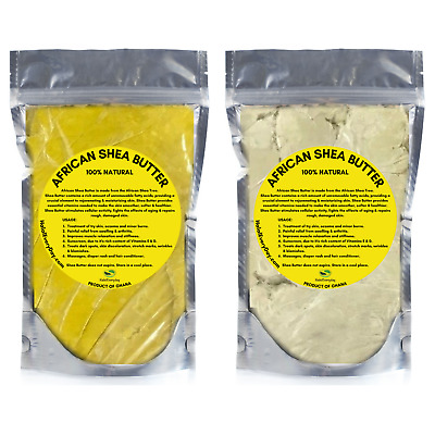 Raw African Shea Butter 100% PREMIUM Organic Unrefined Pure Natural Ghana BULK