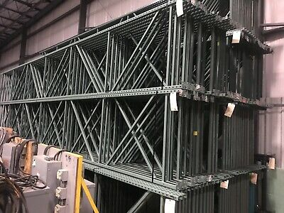 "Tear Drop Uprights/ Pallet Racking 42"" x 26'H."