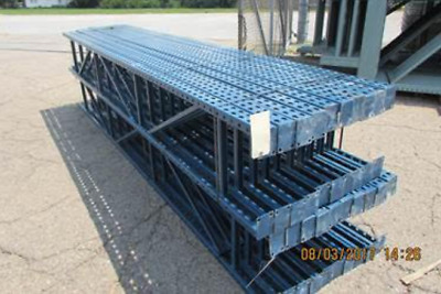 "Tear Drop Uprights Racking for Tire Business, 18"" x 120"" (10'H)."