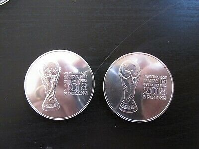 """2018 Russia Silver 3 Roubles (1 Troy Ounce .999) """"Fifa World Cup"""""""