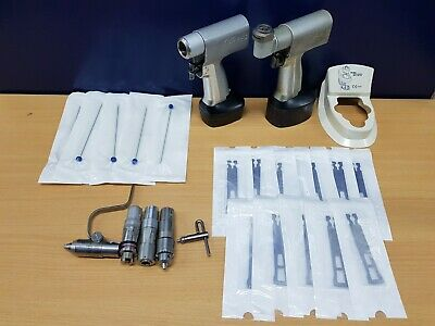 Stryker System 5 Sagittal Saw and Dual Trigger Rotary hand piece Kwire drill