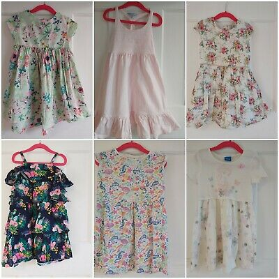 Girls summer bundle Age 3-4 Pretty Dresses Next M&S Joules great condition