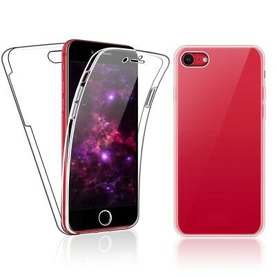 Case for iPhone SE 2020 / iPhone 7 / 8 Full 360 Gel Cover Front and Hard Back
