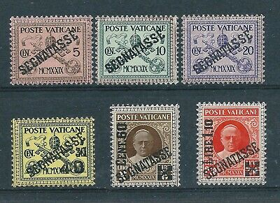 Vatican City 1931 Postage Due-Segnatasse set Mint Never Hinged CV £95-expertised