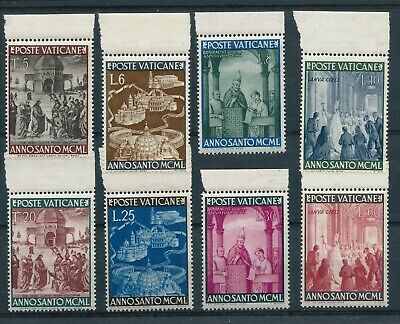 Vatican City 1949 Holy Year - Anno Santo set Mint Never Hinged