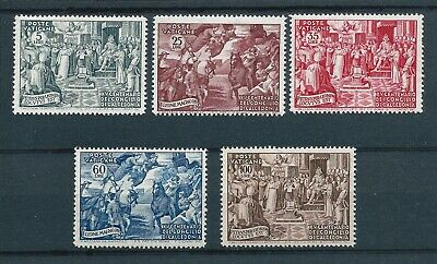 Vatican City 1951 Council of Chalcedon Anniversary set Mint Never Hinged CV £140