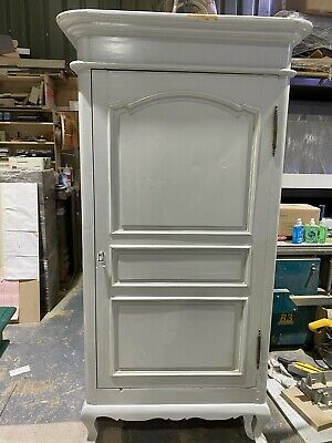 Antique Painted Armoire Wardrobe